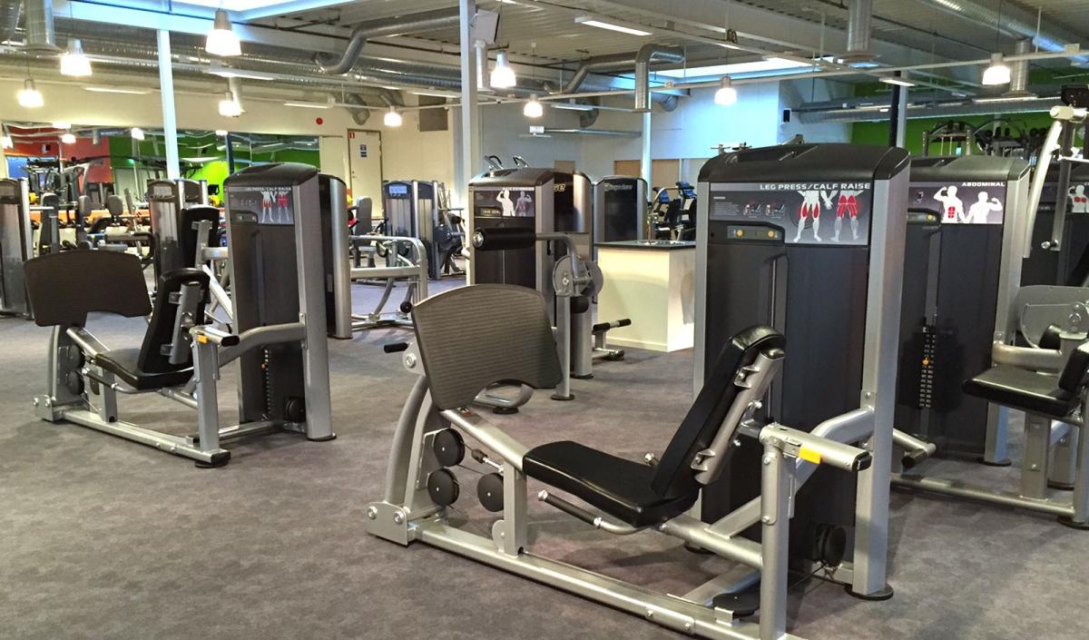 impulse leangen treningssal
