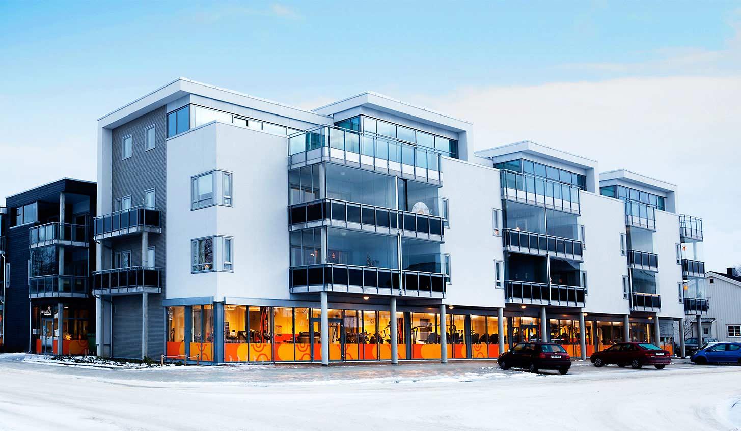 Impulse Treningssenter Stjørdal fasade